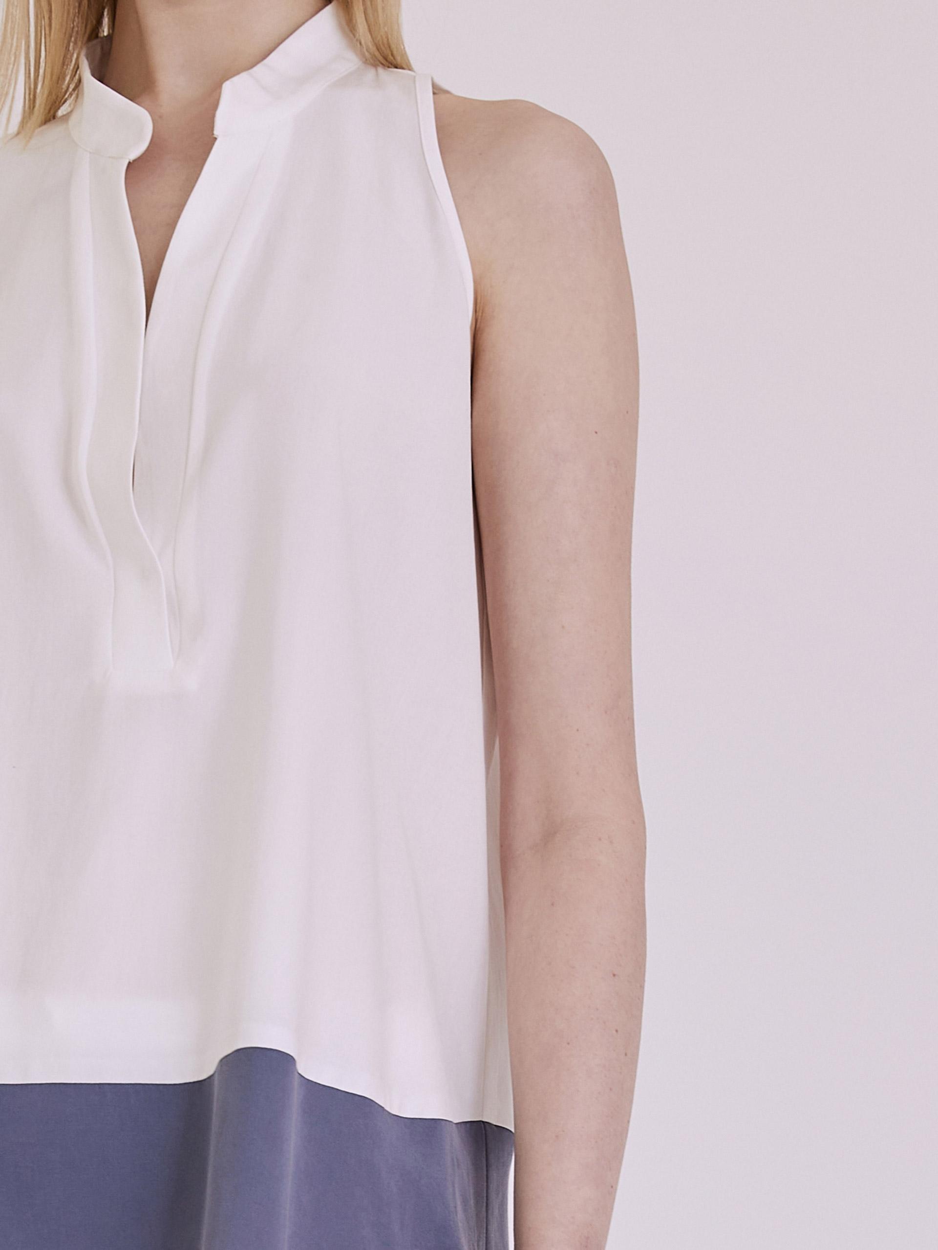 Αμάνικη tencel μπλούζα