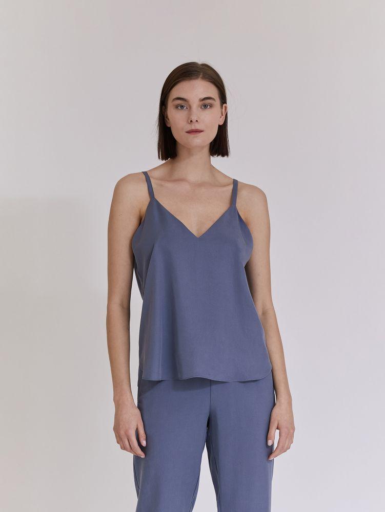 Μπλούζα tencel αμανικη